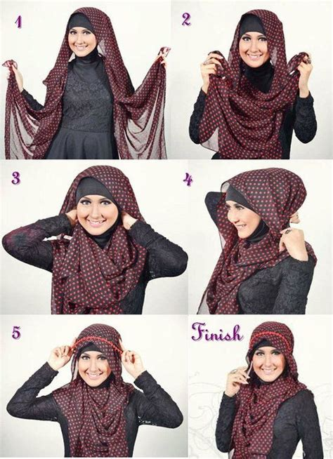 tutorial hijab turban pashmina simple 1000 images about hijab shawl styles remember to cover