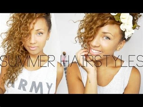 curly haircuts youtube quick summer curly hairstyles youtube