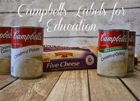 Labelsforeducation Com Sweepstakes - hash brown casserole recipe with cbell s labels for education 174 labels4edu cbias
