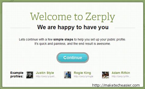 zerply create and track a visually appealing resume