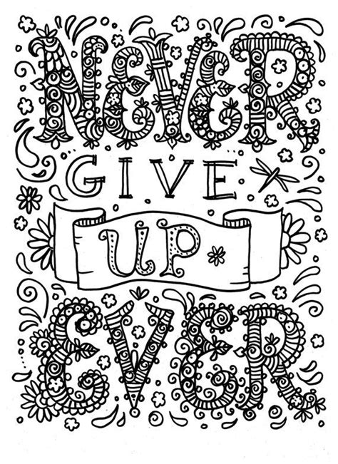 quote coloring pages pdf 18 best colouring pages quotes images on pinterest