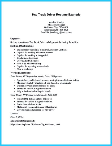 Stunning Bus Driver Resume To Gain The Serious Bus Driver Job Resume Template For Driver Position