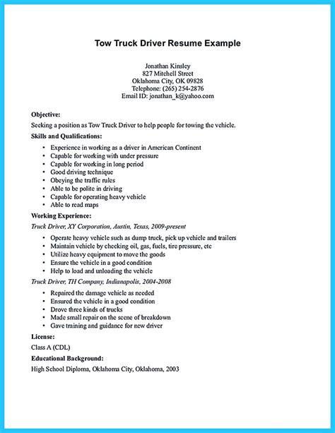resume for driver lexu tk
