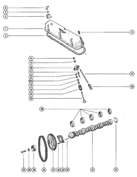 section 351 exles mercruiser 233 ford 351 v 8 1975 1977 rocker cover