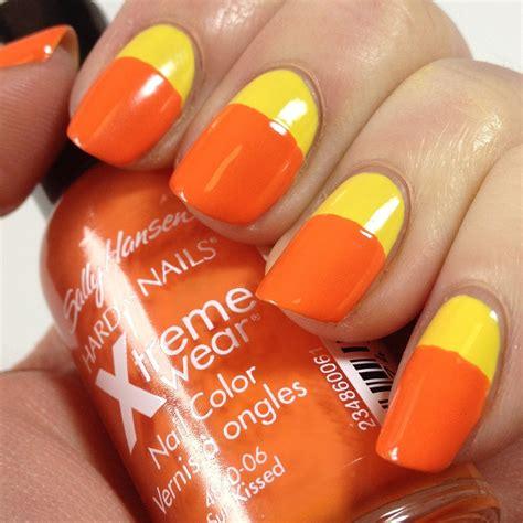 orange nail designs pccala