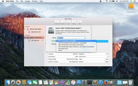 format exfat mac el capitan hardisk external supaya bisa terbaca mac dan windows