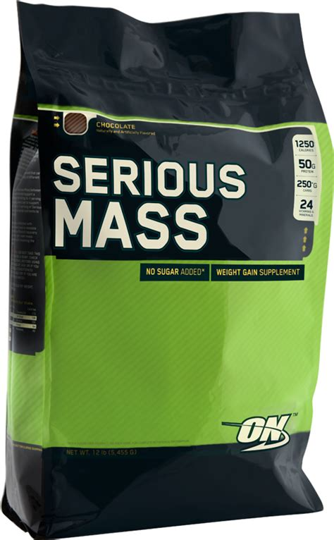 On Serious Mass Optimum Nutrition Serious Mass 5 4 Kg Pro Products