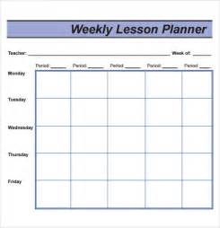 Weekly Lesson Plan Template by Sle Lesson Plan 9 Documents In Pdf Word