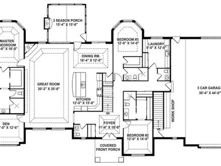 open floor house plans with wrap around porch one story house plans with wrap around porch one story
