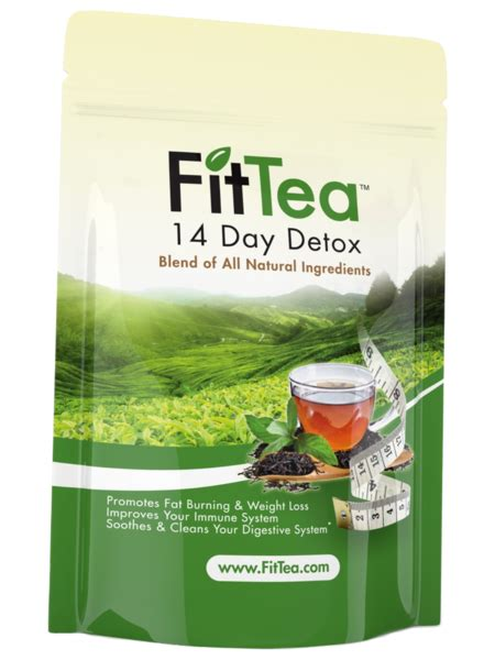 Does Tea Detox by 14 Day Tea Detox Fit Tea