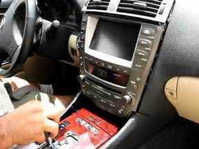 2007 Lexus Is250 Navigation Update How To Remove Radio Navigation Display From 2006 2007
