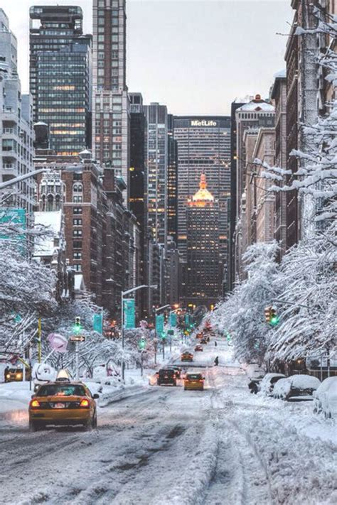 new year nyc today snow filled city streets pictures photos and images for