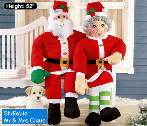 cheap mrs santa santa claus outdoor decorations home design