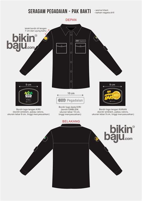 design baju tactical cara pesan seragam kerja kantor dengan desain sendiri