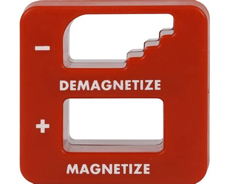 Magnétiseur et démagnétiseur Dimensions (L x l x h) 55 x 48 x 28 mm Produits magnétiques pour l