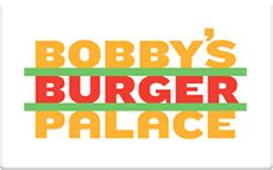Palace Gift Card - bobby s burger palace gift card check your balance online raise com