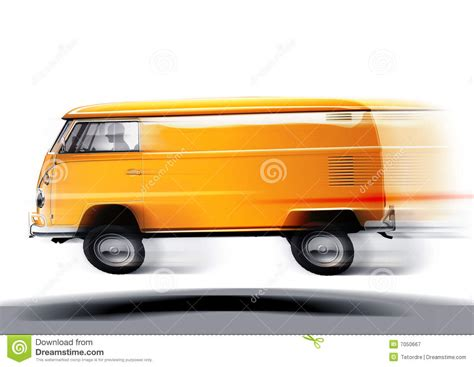 Fast Volkswagen by Fast Volkswagen Transporter Royalty Free Stock Photography