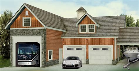Garage For Rv by Rv Garage I D Convert The Two Smaller Garages Into A