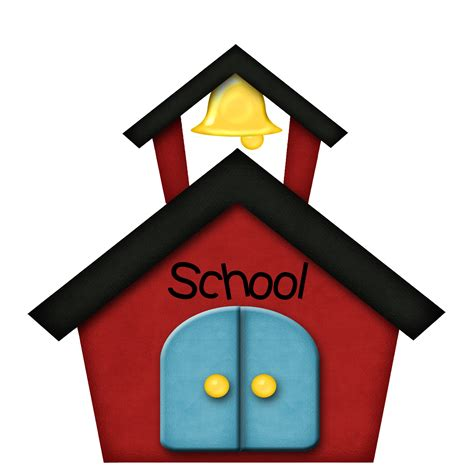 school clipart school building black and white clipart panda free