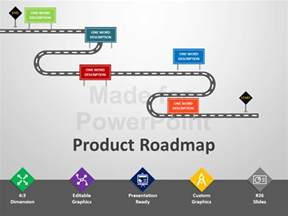 roadmap slide template free product roadmap powerpoint template editable ppt