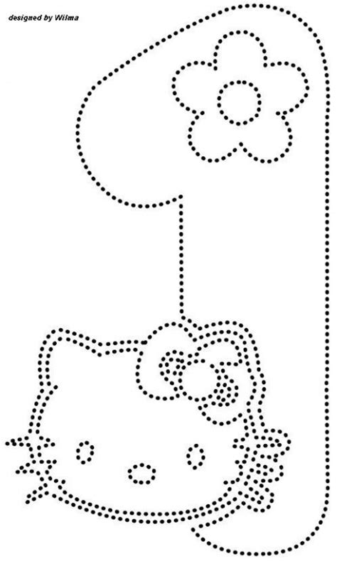 printable hello kitty numbers crafts actvities and worksheets for preschool toddler and