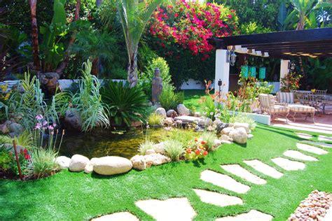 Aquatic Garden Decor Garden Pond Water Feature Los Angeles Tropical Landscape Los Angeles By Pacific
