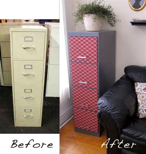 how to a metal file cabinet look better color it simple filing cabinets made beautiful