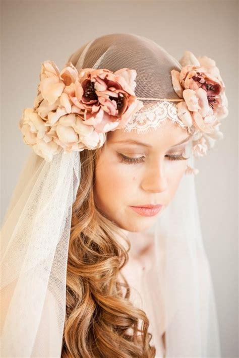 wedding flower veil hair 20 floral wedding veils my hotel wedding