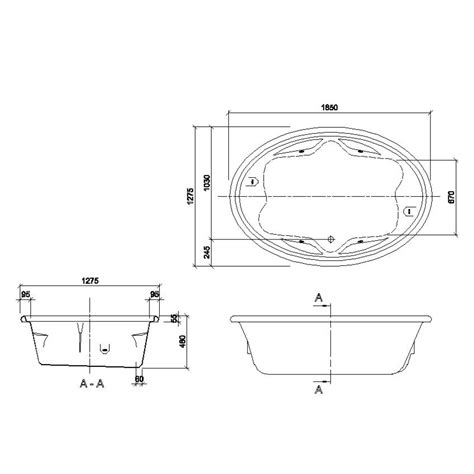 Southern Plumbing Supply by Decina Duo Island Style 1850 Contour Spa Bath Southern