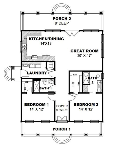 16x28 tiny house 16x28h1e 447 sq ft excellent floor plans 336 best images about floor plan 2 on pinterest house