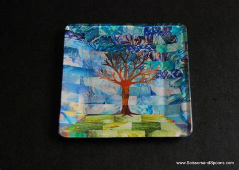 Clear Glass Plates For Decoupage - decoupage collage plate craftiness diy and