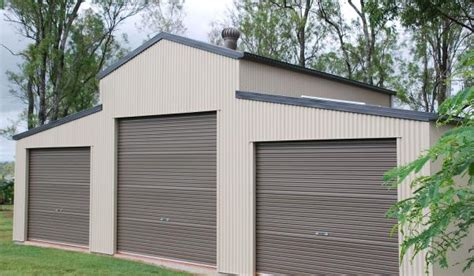 Colorbond Sheds Steel Barns Australian American Barns The Shed Company