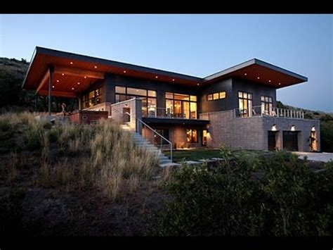 contemporary lake house plans modern house plans 5860 slc a modern house in salt lake city youtube