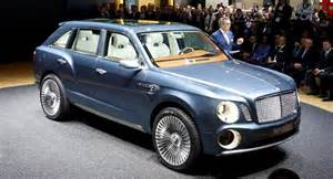 Who Is Bentley Made By Bentley Suv Rolls Into The 2012 Geneva Motor Show