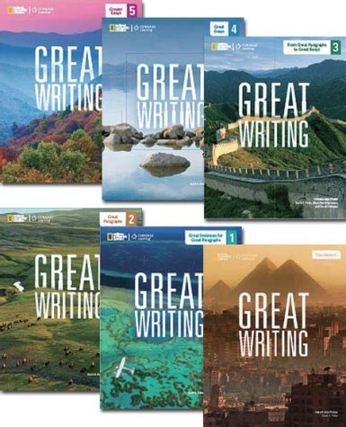 Writing Is Great by The Great Writing Series 2014 Edition センゲージ ラーニング株式会社 Elt