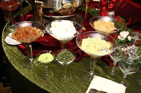 Toppings For A Mashed Potato Bar by Pin By Ar Families On Food Bars Serving Ideas