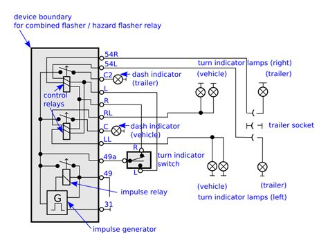 3 pin flasher relay wiring diagram gooddy org