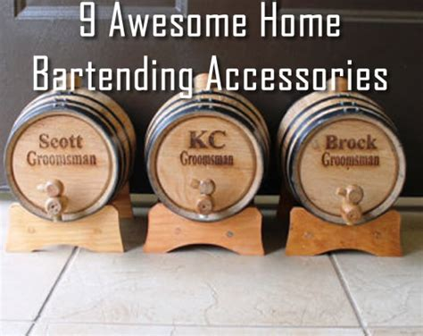 Pub Accessories 9 Awesome Home Bartending Accessories Refined