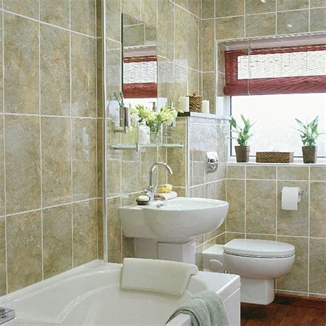 Small Narrow Bathroom Ideas Small Bathroom With Space Saving Suite Housetohome Co Uk