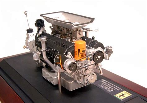 1 43 Scale 250gto Engine Techno Model Completed 2 mr magneto s best choice
