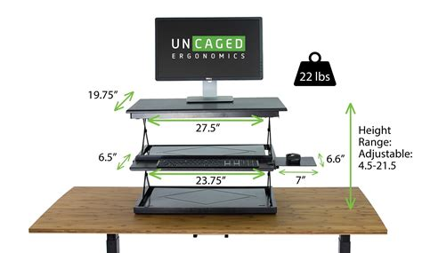 simple standing desk converter amazon com changedesk tall ergonomic laptop desktop