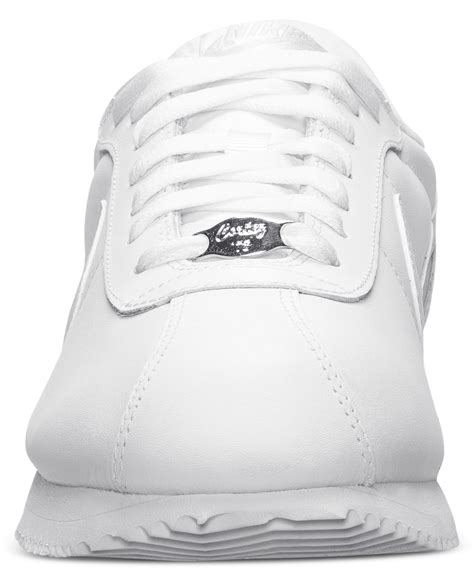 lyst nike mens cortez basic leather casual sneakers