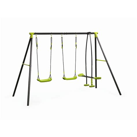 swing set nz swing slide climb 3 function swing set bunnings warehouse