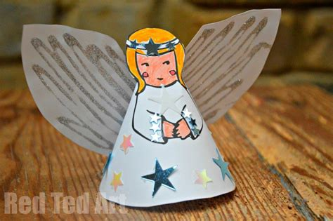 printable paper angel tree topper 21 angel crafts kids can make at christmas mommy s bundle