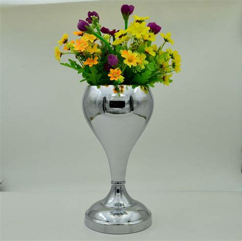 Metal Vases For Flowers by Vases Design Ideas Silver Flower Vases So Ideas