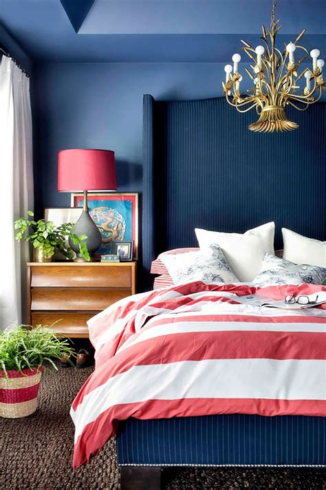 red and blue home decor 10 chic ways to decorate in red white and blue