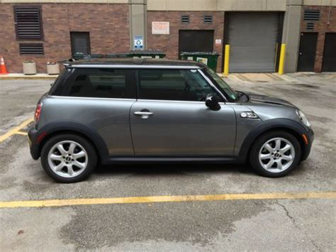 purchase used 2007 mini cooper s with 6 speed manual and turbocharged engine original owner in