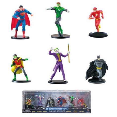 dc comics superheroes team box set 6 pack monogram dc
