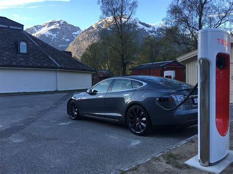 Tesla Superlader Offisiell 229 Pning Av Eidfjord Superlader Tocn Tesla