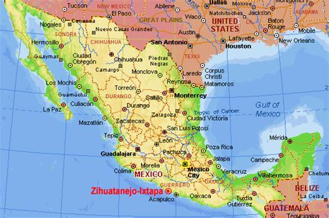 Ixtapa Mexico Map by Destination Zihuatanejo Mexico 12 Pictures Cruising